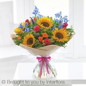 Happy Birthday Summer Rainbow Handtied