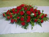 top of casket 117 Roses